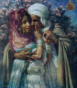 Dinet - Esclave d'amour et lumiere des yeux 1900