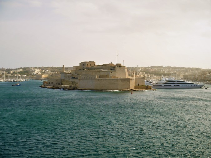 Valletta sea view yacht and fort