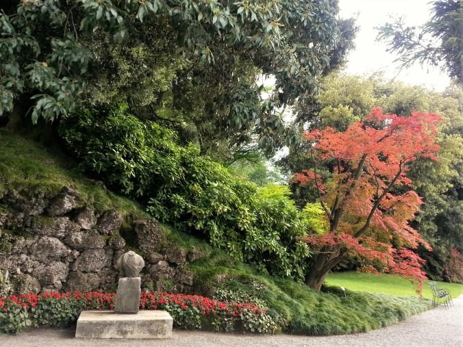 Bellagio gardens Villa Melzi entrance