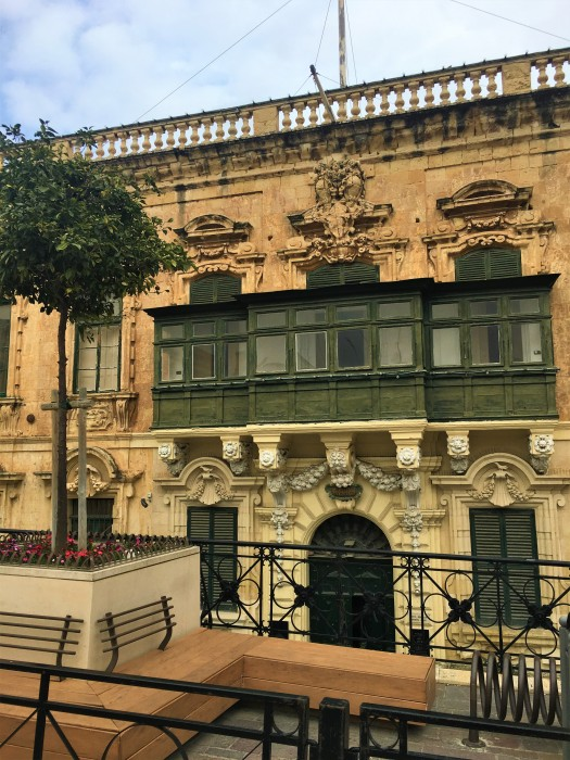 Central Valletta building