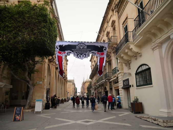 Valletta Republic street shops