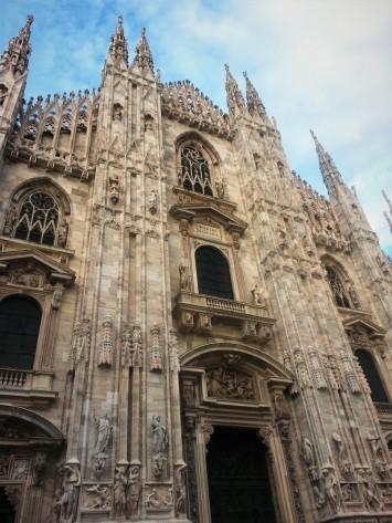 Duomo Milan entrance