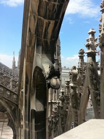 Duomo roof detail