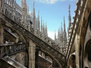 Duomo Milan roof terrace
