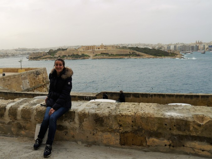 Valletta city wall