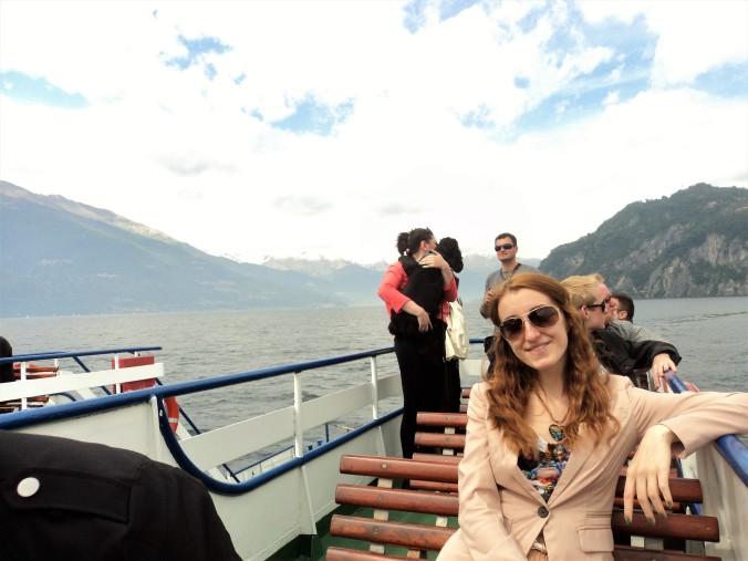Bellagio ferry deck
