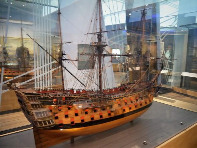 Model of a ship