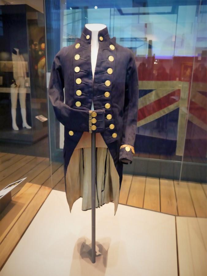 Admiral Nelson's uniform